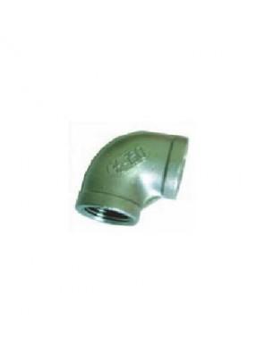 "MECO S/Steel Elbow Fxf  1"" X 90° -Bsp Thread ES25"