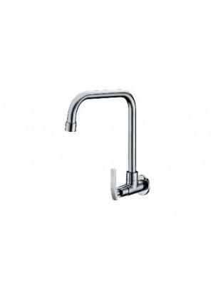 "ORIN Arno 1/2"" (15Mm) Wall Sink Tap-J Neck AR203J1"