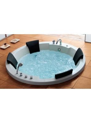 ORIN Four Seater Whirlpool Bath  (Sunken) OR-M101