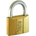 YALE 4pcs Key-alike Brass Padlocks 14050KA4