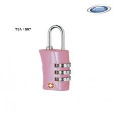 ST.GUCHI  Luggage Padlock (Pink) TSA 1897