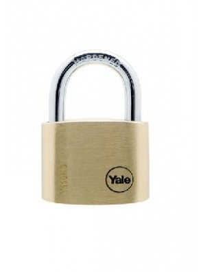 YALE 2pcs key alike Brass Padlock Y110/40/123/2