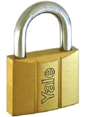 YALE 4pcs Key-alike Brass Padlocks 14050KA4