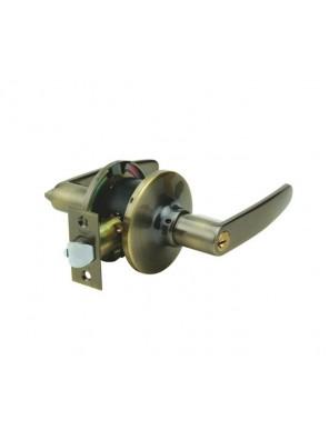 YALE Quickfit Leverset-RH (Antique Brass) VL6227-US5