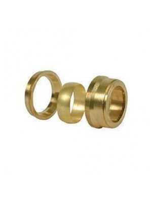"Brass Bush 40mm (1-1/2"") x 15mm (1/2"")"