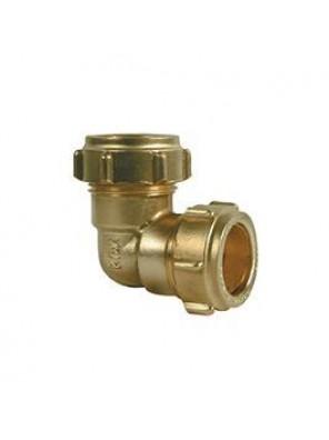 "Brass Elbow C x C 25mm (1"")"