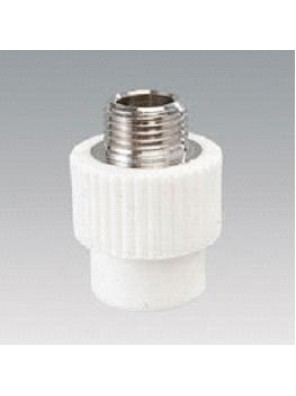 "VESBO 20mm x 1/2"" PPR Adaptor Male"