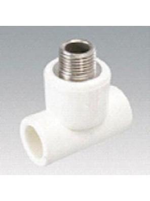 "VESBO 20mm x 1/2""x 20mm PPR T-Part Male-(2308 111)"