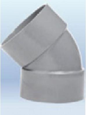 """PVC Elbow 100mm(4"""") x 45º Class""""D"""""""