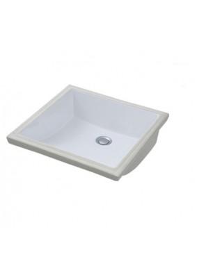Potex Caravaggio Cube 540B Square Under Counter Basin White