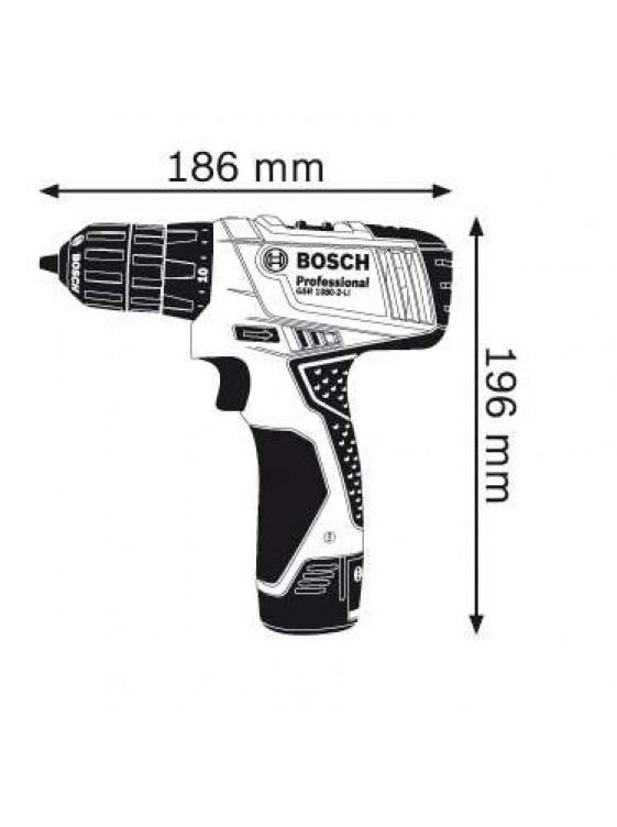 BOSCH 10.8V LI-ION Cordless Drill/Driver GSR 1080-2-LI