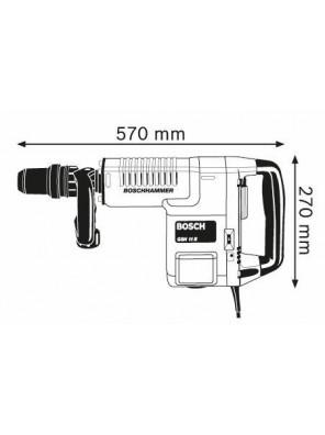 BOSCH 1500W Demolition Hammer GSH 11 E