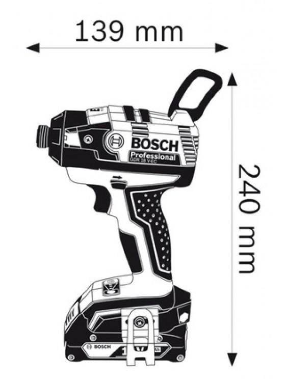 BOSCH 18V EC Cordless Impact Wrenches GDX 18V-EC