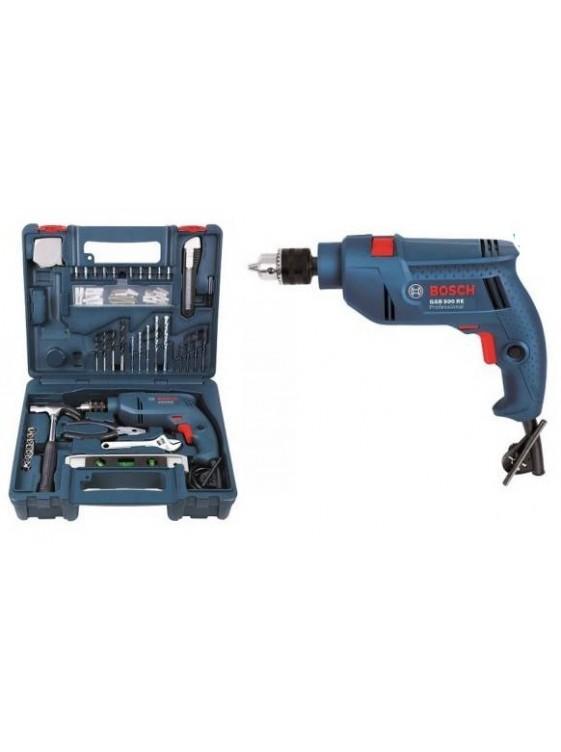 BOSCH 500W  Impact Drill Smart Kit Set GSB10RE