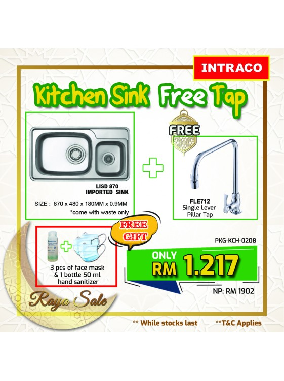 KITCHEN SINK PACKAGE VALUE BUY PKGKCH0208