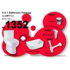 JOHNSON SUISSE Lago C/C WC 250 6/3L+ Latina 500 basin