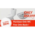Orin Eudora C/Couple WC BO220 Package