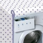 RAYEN Washing Machine Cover Front Loading White LILA 2368.60