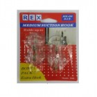 REX 1060 Medium Suction Hook-Metal 4pcs/pack