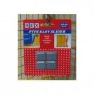 REX 1487 Ptfe Easy Slider-24X24mm 4pcs/pack