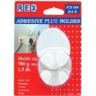 REX 1007 ABS Plug Holder  2 pcs/pack