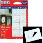 REX 1008Y Mini Hook-Diamond 8pcs/pack