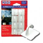 REX 1014 Adhesive ABS Cup Hook 8pcs/pack