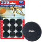 REX 1028 Cotton Grey Felt 32mm 9 pcs/pack