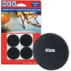 REX 1029 Cotton Grey Felt 38mm 4 pcs/pack