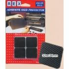 REX 1045 Eva Rubber Skid 32mm x 34mm 4 pcs/pack