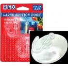 REX 1057 Large Suction Hook  2 pcs/pack