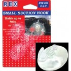 REX 1059 Small Suction Hook 5pcs/pack