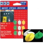 REX 1082 Mini Oval Hook 9pcs/pack