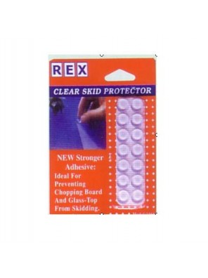 REX 1066 Clear Skid Pad 14pcs/pack