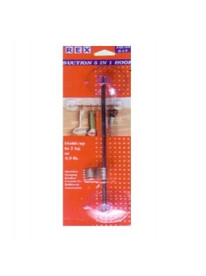 REX 1070 Suction 5 In 1 Kitchen Hook 1pc/pack