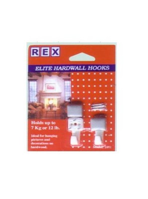 REX 1091 Elite Hook-Square Cover 2pcs/pack