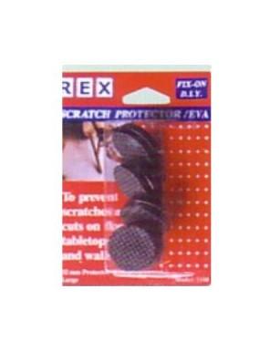 REX 1100 Scratch Protector-32mm Black 4pcs/pack