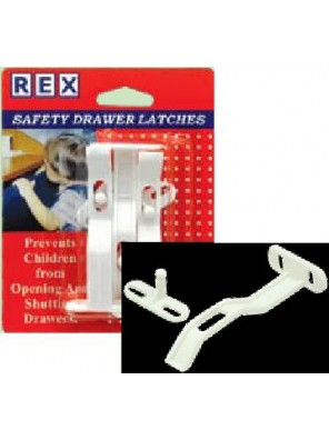 REX 1101 Safety Drawer Latches 3 pcs/pack