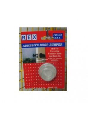 REX 1255 Door Bumper-Clear 1pc/pack