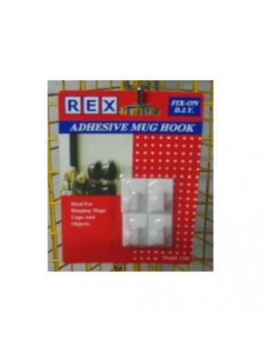 REX 1285 Adhesive Small Mug Hook
