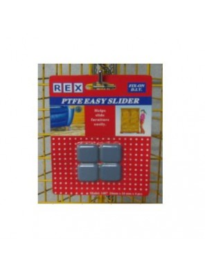 REX 1487 Ptfe Easy Slider-24X24mm 4pcs/pack