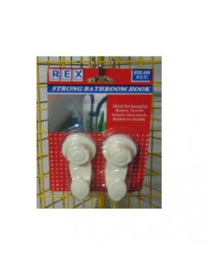 REX 1538 Strong Suction Hook 2pcs/pack