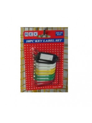 REX 3007 Key Label Set 10pcs/pack