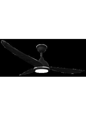 "RUBINE 56"" Ampio Ceiling Fan; RCF-AMPIO56-3BL-MB(Matte Black"