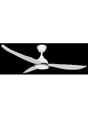 """RUBINE 56"""" Ampio Ceiling Fan; RCF-AMPIO56-3BL-MW(Matte White"""