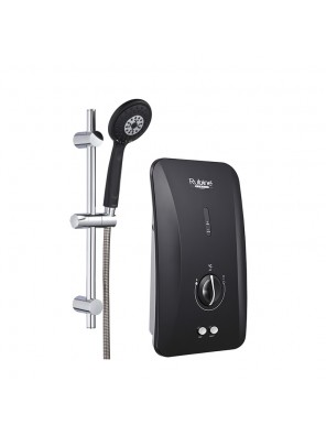 RUBINE Instant Water Heater Non Pump;RWH-FS360N-BCB(C/blk)
