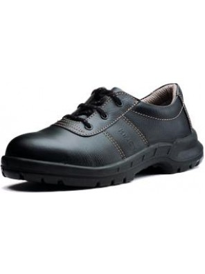 "KING Shoe 4"" Black Full Grain Leather Laced Shoe KWS800/09"