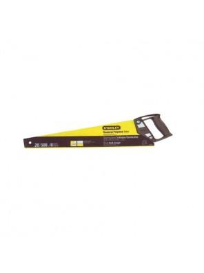 STANLEY 20-080 Plastic Handle Saw 18IN X 7T/8PT Cross cut