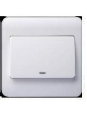 SIMTONE 20A DP W.Heaer/A.cond Neon Indicator(White)-32023BWW