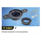 "TECHPLAS 2"" Urinal Connector c/s Accessories T-1061"